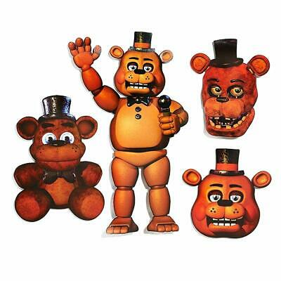 Five Nights at Freddy's Game Halloween Birthday Party Decoration Freddy Cutouts - Halloween At Freddy's Game