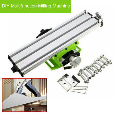 Multifunction Working Table Vise Cross Slide Bench Drill Press Fixture Alloy
