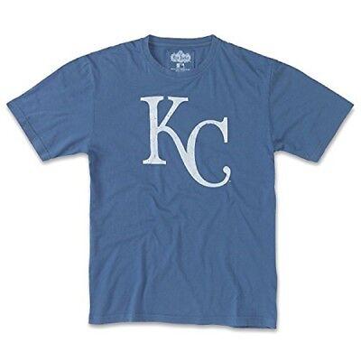 American Needle Brass Tacks MLB T-Shirt-Kansas City Royals-Royal Blue-XL