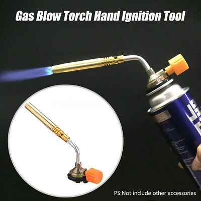 Flamethrower Burner Butane Gas Blow Torch Camping Welding BBQ Baking Ignition
