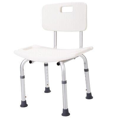 New Adjustable Medical Shower Chair Bath Tub Bench Stool Seat W/Detachable (Adjustable Bath Chair)