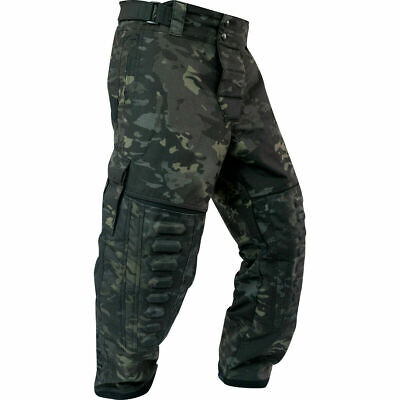 New Valken Paintball VTac Zulu Pro Playing Pants - Black V-Cam - (Paintball Professional Pants)