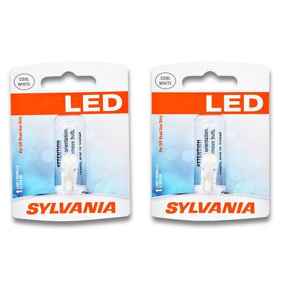 (Sylvania SYLED - Two 1 Packs - 194SL LED Bulb Courtesy Side Marker Glove Box hl)