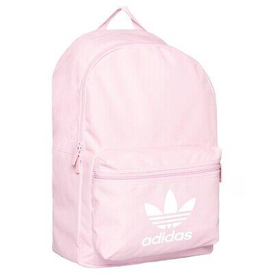 Adidas Originals Classic Backpack Gym Bag Pink Sports Womens Girls BNWT Trefoil
