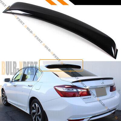 For 2013-17 9th Gen Honda Accord Sedan Rear Window Roof Visor Spoiler Deflector