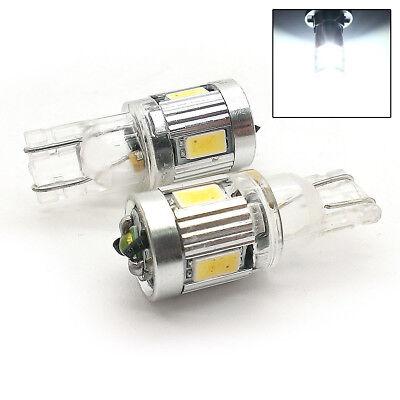 FITS FORD 2X XENON WHITE 4+1 CREE LED SIDE LIGHT W5W T10 501 SJSL1034W