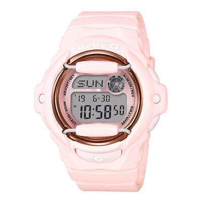 Casio BG169G-4B Women's Baby-G Pink Resin Strap World Time Watch