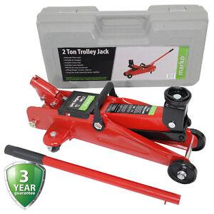 Trolley Jack 2 Ton Hydraulic Lifting Floor Car Van Garage  Heavy Duty 2000kg NEW