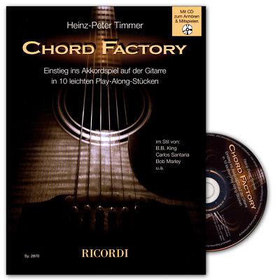 Chord Factory - Einführung in das Akkordspiel auf der Gitarre - 9790204228706