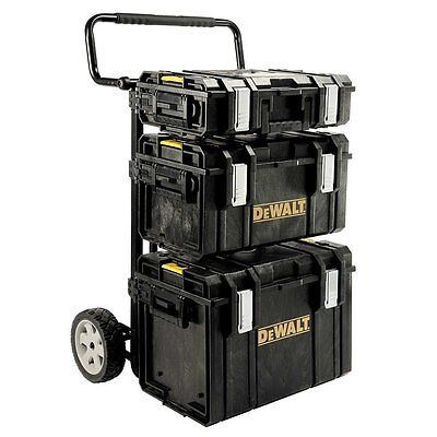 Quality DeWALT Rolling-Wheel Portable Toolbox Cart Chest Too
