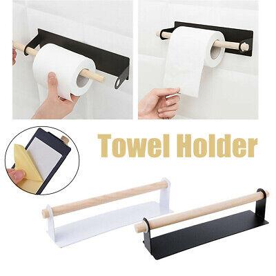 Self-adhesive Bathroom Toilet Paper Roll Shelf Wall Hanging Towel Holder  US Hang Toilet Paper Holder