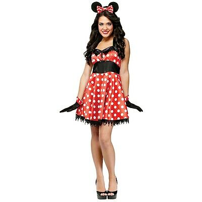 Minnie Mouse Costume Adult Halloween Fancy - Mouse Costume Halloween