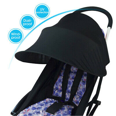 Baby Stroller Shield Sun Shade Pram Cover Protect Hood Canopy Oxford Cloth US
