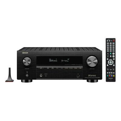 Denon AVR-X3700H 9.2-Channel 4K AV Receiver with 3D Audio an