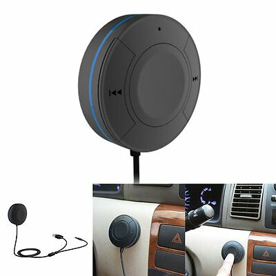 Bluetooth Wireless Audio Music Receiver 3.5mm Adapter Handsfree Car AUX Speaker