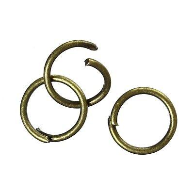 2000 Verbindungsringe, Biegeringe, Binderinge 8 mm bronze Mega Maxi Pack Set (0,