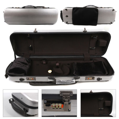 yinfente violin case 4/4 Carbon Composite materials Two code lock light&strong