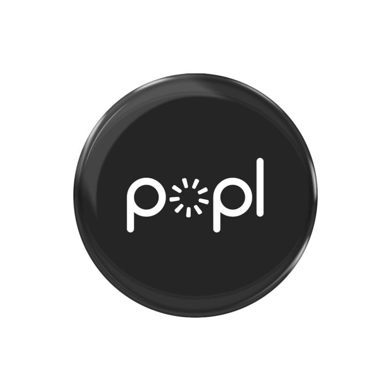 Popl Black | Instantly Share Anything! | Popl Direct | NFC Tag