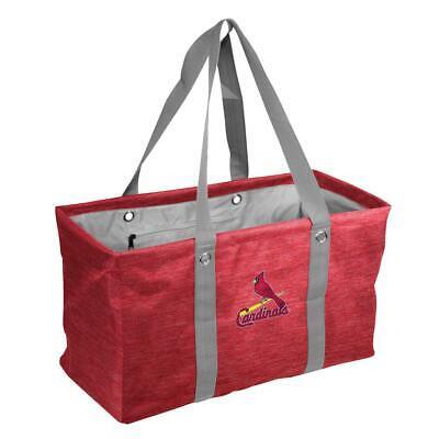 ST. LOUIS CARDINALS ~ (1) Team Logo Deluxe Picnic Caddy Basket Travel Bag -
