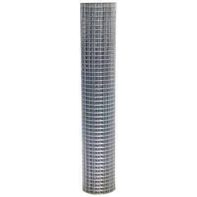 15m Welded Wire Mesh Roll 0.9m Galvanised Steel Sheet 50mm Holes Pet Fencing