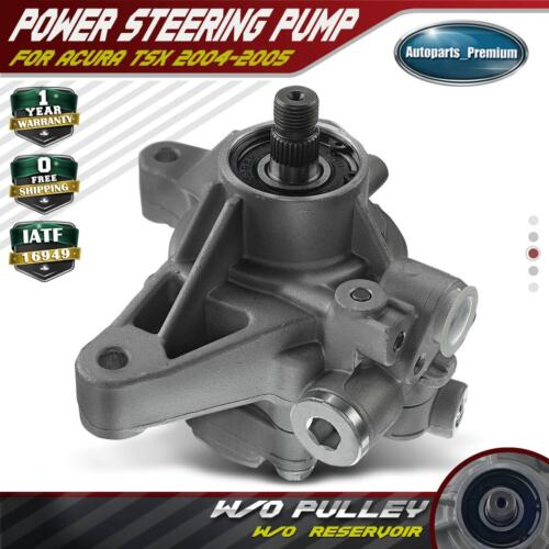 Power Steering Pump Without Reservoir For Acura TSX L4 2