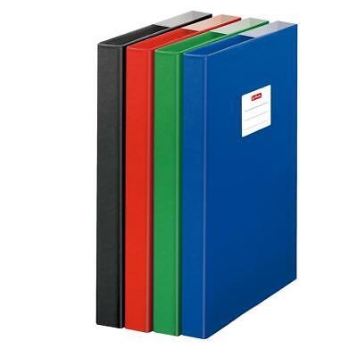 Herlitz Heftbox / DIN A4 / aus Pappe / Farbe: rot