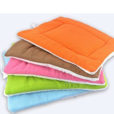 Pet Bed Cushion Mat Pad Dog Cat Kennel Crate Warm Cozy Soft Blanket S M L XL