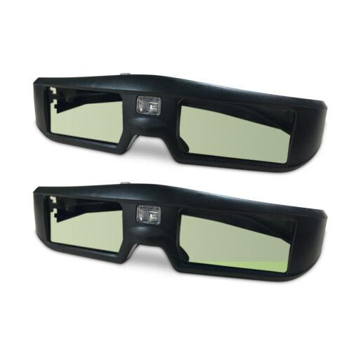 2x 3D-Brille aktiv Shutter Brille Für DLP-Link Projektor Beamer BenQ Acer Optoma