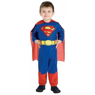 Superman Costume Baby Toddler Halloween Fancy Dress - Toddler Superman Halloween Costume