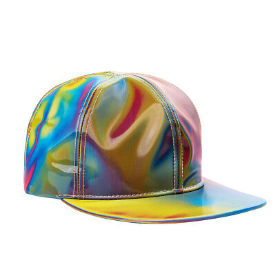 Marty Mcfly Hat (Back to the Future Marty McFly Cap Licensed Rainbow Color Changing Hat)