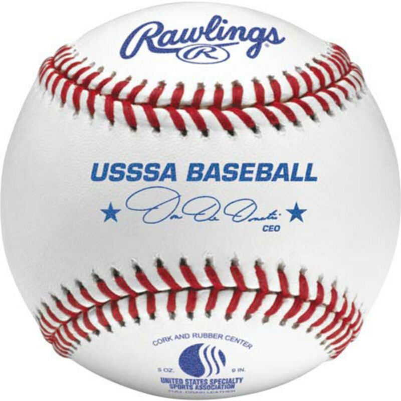 Rawlings Official League USSSA Competition Baseball (Dozen)