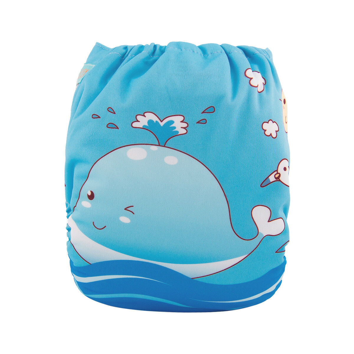 ALVABABY Reusable Baby Cloth Diapers OneSize Washable Pocket Nappies With Insert YD136