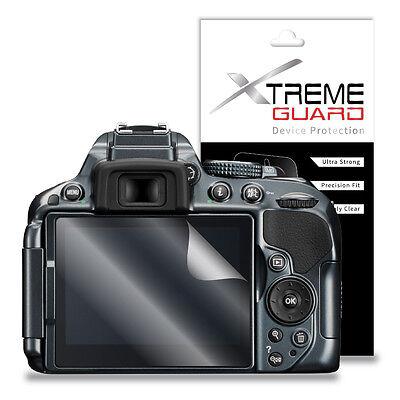XtremeGuard Camera Screen Protector Shield For Nikon Digital D-SLR D5300 (Clear)