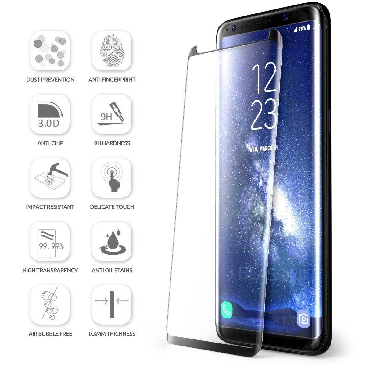 Купить Case Friendly Tempered Glass Screen Protector Samsung Galaxy Note 9 S9 / S8 Plus