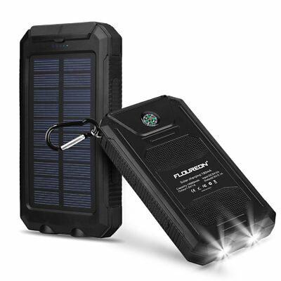 Solar Power Charger Exotic Battery Panel iPhone 6 5 Samsung Tablet Blackberry