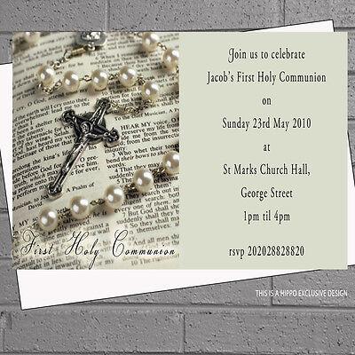 First Holy Communion Invitations Boys Girls 1st x 12 +envs H0632 - First Communion Invitations For Boys
