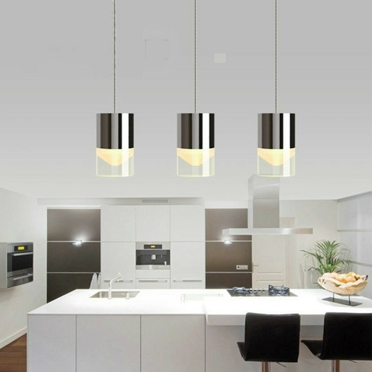 Modern Acrylic LED Pendant Lamp Chandeliers Bar Living Room Ceiling ...