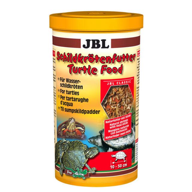 JBL Turtle Food*Main food for water turtles, incl. pond turtles*100,250 ml,1L