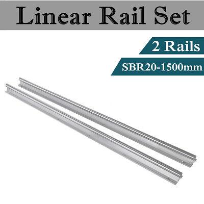 Sbr20-1500mm Linear Rail 20mm Fully Supported Slide Guide Linear Rail Shaft Rod