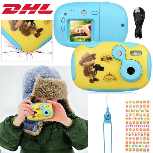 Mini Kinderkamera Digital Kamera 1,44'' TFT 4P Kamera HD für Kinder Geschen DHL