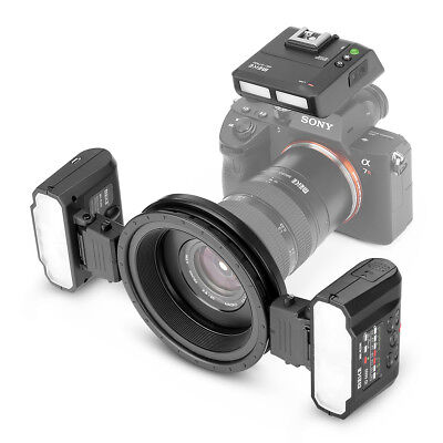 Meike MK-MT24 Macro Twin Lite TTL Flash Kit for Sony Nex A7 A7RII A7MII Camera Camera Lite Kit