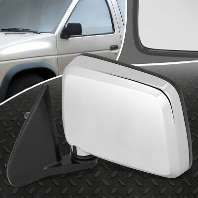FOR 85-97 NISSAN PICKUP D21 720 OE STYLE MANUAL LEFT SIDE REAR VIEW DOOR MIRROR 97 Nissan Pickup Door Mirror