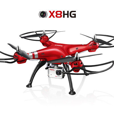 Syma X8HW HD 5MP Camera Headless RC Quadcopter Altitude Hold Drone 2.4G 4CH Toy