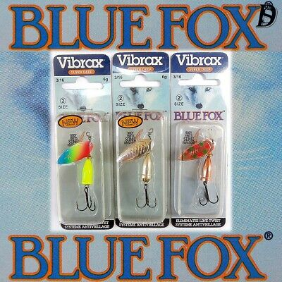 Blue Fox Moresilda 7,5cm 15g Köder Blinker Forelle Lachs NEU FARBEN