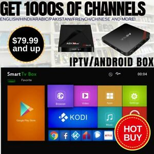 Android Boxes - $79.99 and up! Get 1000's of Awesome Channels