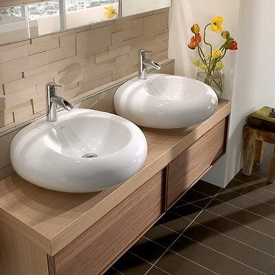 LagerRäumung V&B PURE STONE Waschtisch 517061R1 Alpinweiß C+ 605x540 Waschbecken