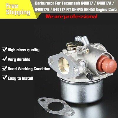 Carburetor Tecumseh 640104 640017 OHH45 OHH50 5hp Horizontal OHV Engine M GCA68 ()