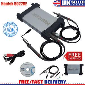 HANTEK PC USB 2CH Channels Digital PC Based Oscilloscope 20MHz 48M Sa/s 6022BE