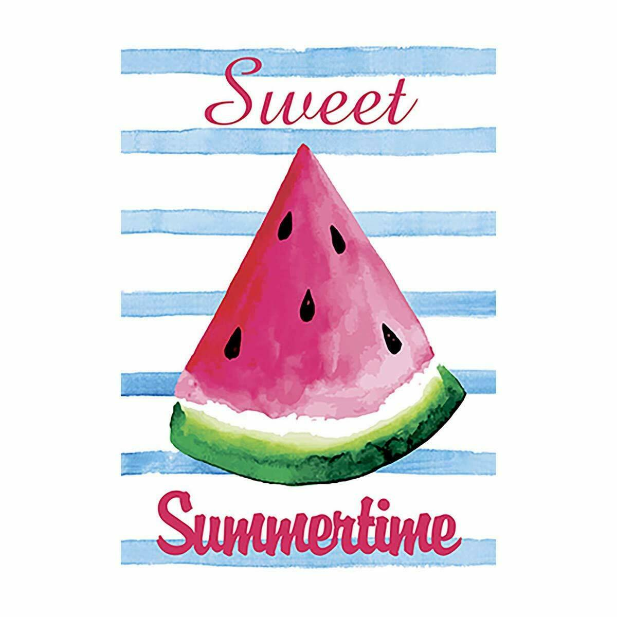 sweet summertime watermelon yard outdoor decorative summer