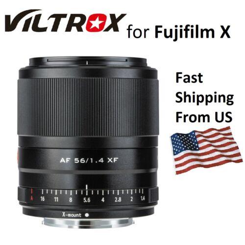 Viltrox 56mm F1.4 Autofocus Lens for Fujifilm Fuji X-mount Portrait X-T3 T30 XT4